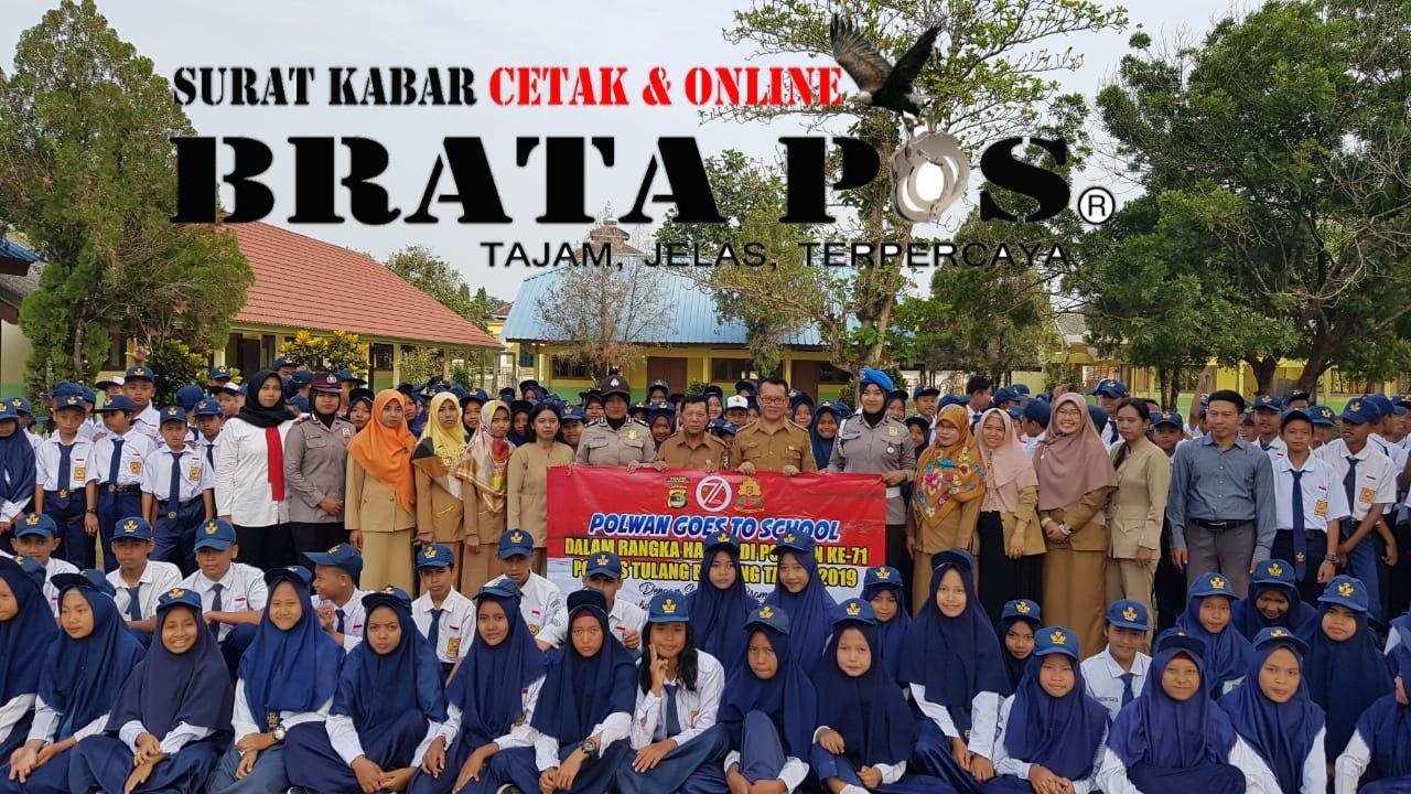 SMA (sekolah menengah atas) Negeri 2 Menggala, SMK (sekolah menengah kejuruan) Nusantara Unit 2 Tulang Bawang dan SMP (sekolah menengah pertama) Negeri 1 Lambu Kibang, Tulang Bawang Barat