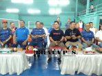hadir dalam pembukaan turnament ini yakni Sekda Bungo H. Ridwan IS, MM, Kepala OPD dilingkup Kabupaten Bungo, Ketua PBSI, Para Kabag, para Camat, dan tamu undangan yang lainnya.